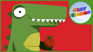 Letter A song for kids | Alan the Alligator | Tiny Tunes