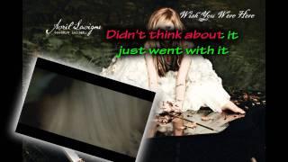 Wish You Were Here - Avril Lavigne (Karaoke/Instrumental)