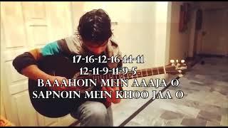 Tum Dil Ki Dhadkan Mein / Single String Guitar Tabs