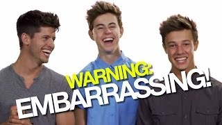 NASH GRIER AND CAMERON DALLAS' EMBARRASSING FIRST DATES! | #DearHunter