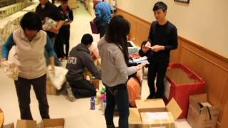 2013 YAD x ESC Winter Socks and Toiletries drive for Out of the Cold