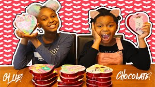 Don't Choose The Wrong Valentine Slime Challenge!!!