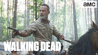 (SPOILERS) 'Rick's Vision' Inside BTS | The Walking Dead