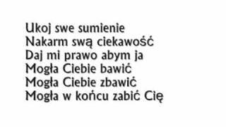 Agnieszka Chylińska - winna (tekst)