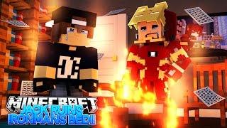 Minecraft Adventure - JACK DESTROYS IRONMANS BIG PLANS | BED WARS