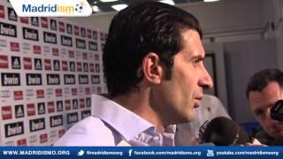 """""""España es el favorito"""" (Para la Eurocopa) - Luis Figo"""