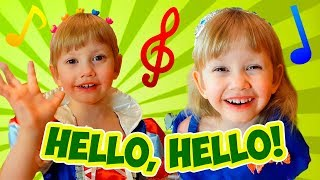 Hello Hello! Can You Clap Your Hands? Nursery Rhymes songs for kids