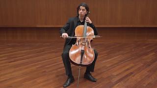 J.S. Bach - Cello Suite No. 3, Prelude