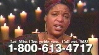 miss cleo tarot 2001 commercial