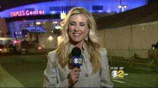 Reporter has migraine on live TV 2/13/11.