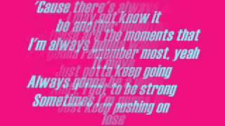 The Climb - Miley Cyrus Lyrics