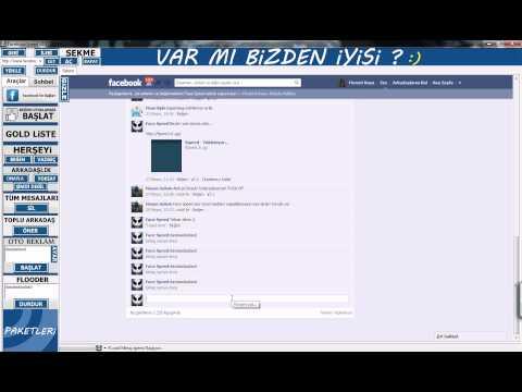 Facebook Speed (Facebook Spam Hızlı Mesaj Gönderme)