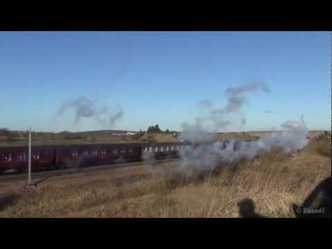 60009 Union of South Africa at Colton junction 01 12 2012.mp4