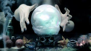 DIY: Magic Crystal Ball | Halloween Room Decor