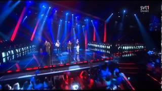 Lipstick - Jedward feat. Danny Saucedo Gina Dirawi 2013