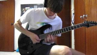Dragonforce - Through the Fire and Flames Solo (Cover)