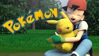 Pokemon Intro in 3D !!