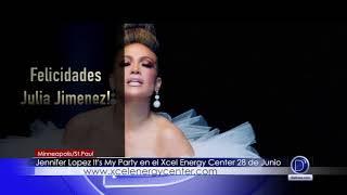 Ganadora de un par de boletos para Jennifer Lopez it's my party tour
