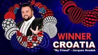 Winner of Eurovision Song Contest 2017 -  My Friend -  Jacques Houdek (Croatia )