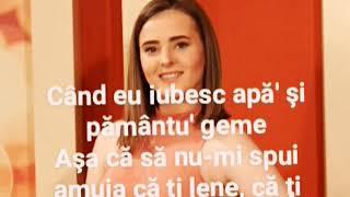 Lia Taburcean -Când eu iubesc(Versuri)
