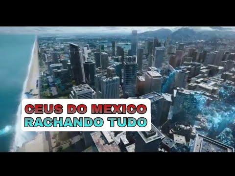 População do México assustada com intenso terremoto acompanhado de estranhos clarões no céu