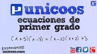 Imagen en miniatura para Ecuación de primer grado 04