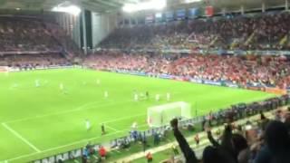 Euro 2016 Croatie - Portugal. But Quaresma