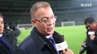 """Fouzi Lakjaâ : """" Tous les efforts sont déployés pour rendre les Marocains fiers de leur sélection"""""""