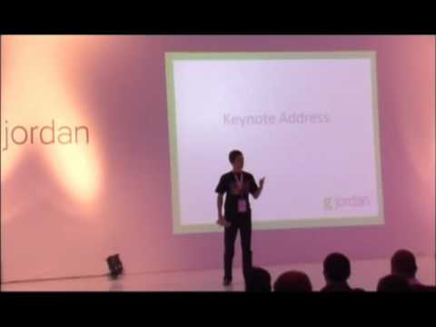GJordan - Keynote - Aiming Bigger than ourselves - Wael Ghonim - 13Dec2010