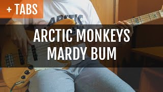 Arctic Monkeys - Mardy Bum (Bass Cover with BASS!)