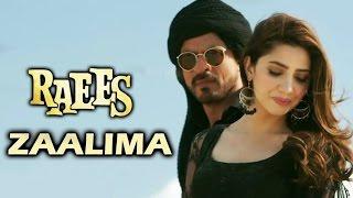 Zaalima Video Lyrics Song HD | Raees | Shahrukh Khan | Mahira Khan