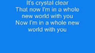 A whole new world lyrics