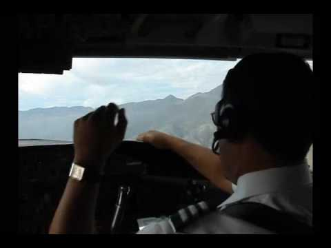 DASH 8 LOJA ECUADOR CRITICAL TAKE OFF COCKPIT