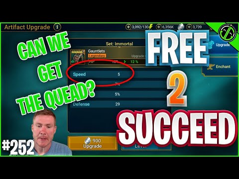 QUAD Speed Roll Incoming?? Maybe?? PLEASE GOD??? | Free 2 Succeed - EPISODE 252