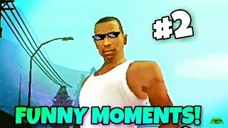 GTA San Andreas Android: Funny Moments #2