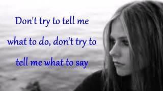 Avril Lavigne - Don't Tell Me (Lyrics)