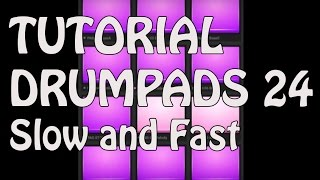 Crispy EDM Slow and Fast | Electro Drumpads 24