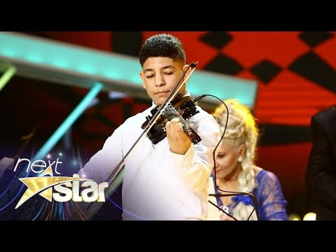Mihai Ştefan a cântat senzaţional la vioară! Next Star