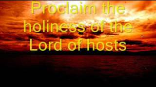 PROCLAIM THE HOLINESS OF THE LORD OF HOSTS Praise and Worship Songs with Lyrics zmozeksongsforgod
