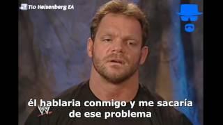 Palabras de despedida de Chris Benoit a Eddie Guerrero - Subtitulado al español-