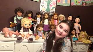 Ava Bleu's all my dolls (in that family) video part 2/3