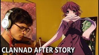 Clannad: After Story OP - Toki wo Kizamu Uta (Viola Cover)