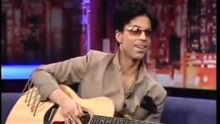 Prince Play Guitar for Maria Bartiromo CNBC 2004