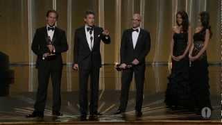 The Descendants Wins Adapted Screenplay: 2012 Oscars width=