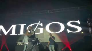 Team EastSide Peezy performs with Migos in Detroit | Hustle Season DVD | The Backstage Pass
