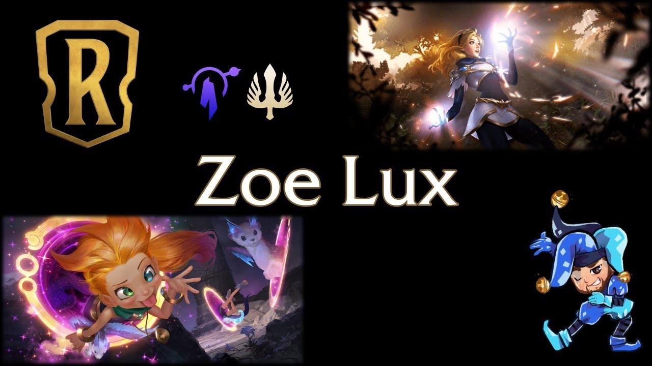 Jeff Hoogland - Zoe Lux Control - Legends of Runeterra Deck - January 22nd, 2021