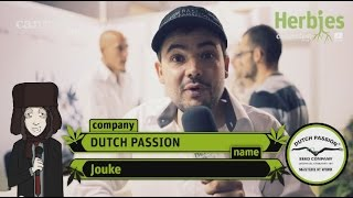 Herbie Interviews Dutch Passion Seeds