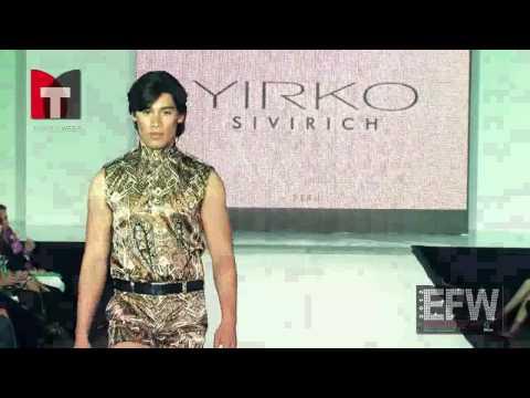 Ecuador Fashion Week 2012 9na Edición Diseñador YIRKO SIVIRICH de Perú