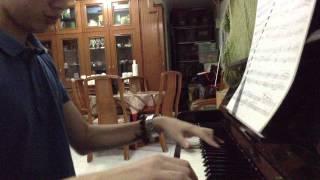 Rage your dream piano version