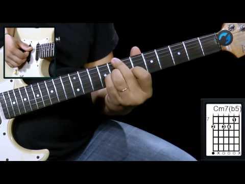 Inversão de Acorde Menor - (aula técnica de guitarra)